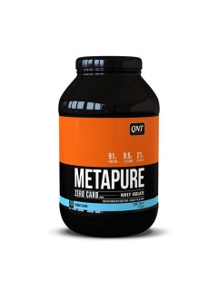 METAPURE ZERO CARB ISOLATE QNT 1KG QNT  Whey Protéine Isolate Power Nutrition