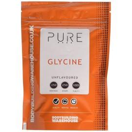 100% PURE GLYCINE EN POUDRE BBW BODYBUILDING WAREHOUSE (BBW) Acides Aminés Power Nutrition