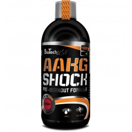 AAKG SHOCK LIQUIDE BIOTECH USA 500ml BIOTECH USA Congestion & Volume Power Nutrition