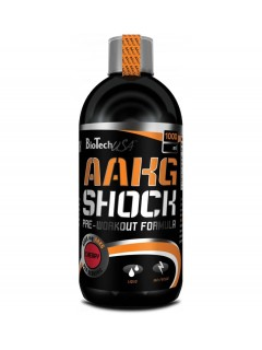 AAKG SHOCK LIQUIDE BIOTECH USA 500ml BIOTECH USA Congestion & Volume Power Nutrition