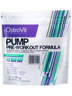 PUMP PRE WORKOUT FORMULA OSTROVIT 50 DOSES OSTROVIT Congestion & Volume Power Nutrition