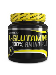 L-GLUTAMINE 100% BIOTECH USA BIOTECH USA Glutamine Power Nutrition