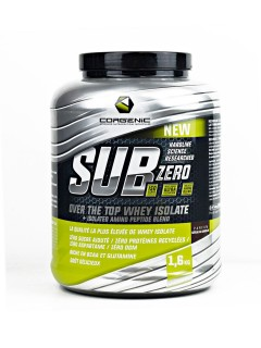 SUBZERO CORGENIC 1,6KG CORGENIC Whey Protéine Isolate Power Nutrition
