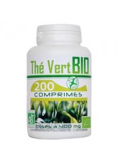 EXTRAIT THE VERT BIO 400MG GPH  Compléments Naturels Power Nutrition