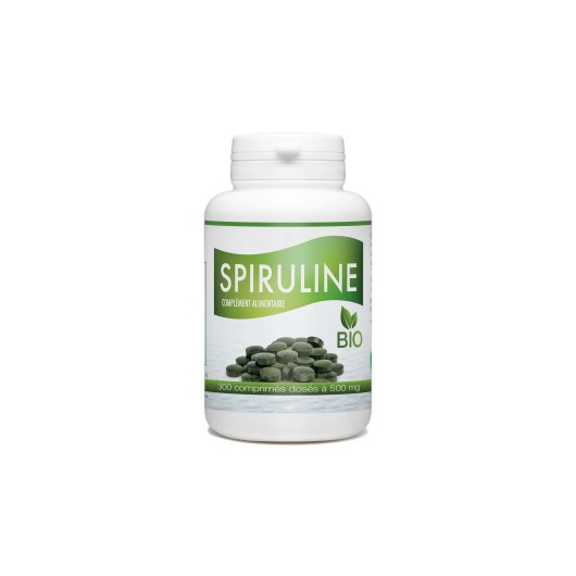 SPIRULINE BIO 500MG GPH  Super-aliments Power Nutrition