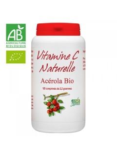 VITAMINE C NATURELLE ACEROLA BIO GPH  Vitamines et minéraux Power Nutrition