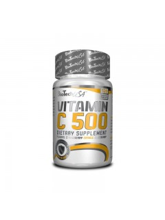 VITAMINE C-500 BIOTECH USA BIOTECH USA Vitamines et minéraux Power Nutrition