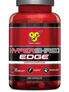 HYPERSHRED EDGE BSN NUTRITION BSN Nutrition Brûleurs de graisse Power Nutrition