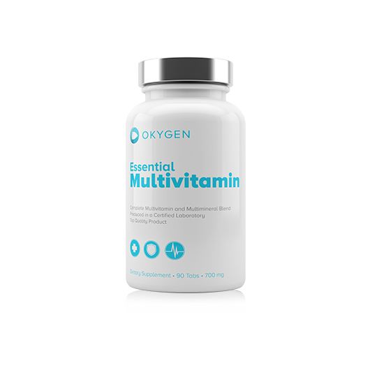 ESSENTIAL MULTIVITAMIN OKYGEN OKYGEN Vitamines et minéraux Power Nutrition