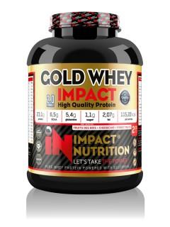 GOLD WHEY 2.0 IMPACT NUTRITION 2kg IMPACT NUTRITION Whey Protéine Power Nutrition