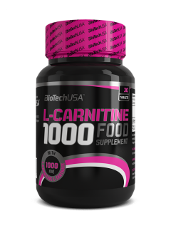 L-CARNITINE 1000 BIOTECH BIOTECH USA Carnitine Power Nutrition