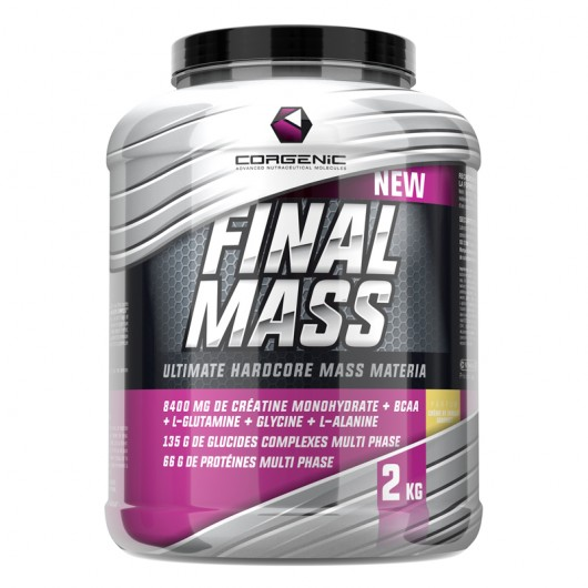 CORGENIC FINAL MASS 2KG CORGENIC Gainers Power Nutrition
